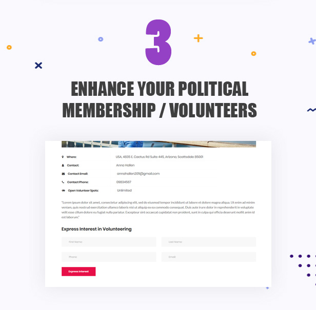 3a-political-membership Actavista - A Responsive Political WordPress Theme For Politicians and Organizations theme WordPress