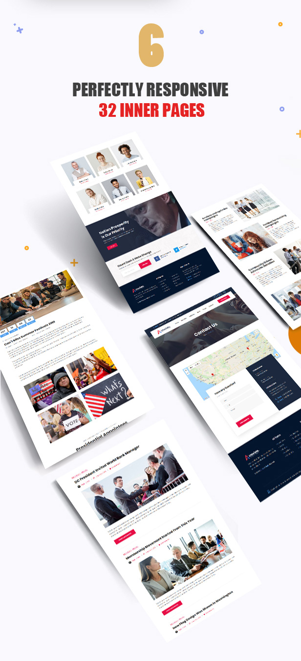 6a-actavista-inner-pages Actavista - A Responsive Political WordPress Theme For Politicians and Organizations theme WordPress