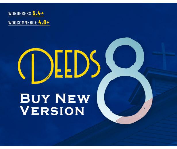 Deeds - Mejor tema de WordPress para iglesias sin fines de lucro receptivo - 1