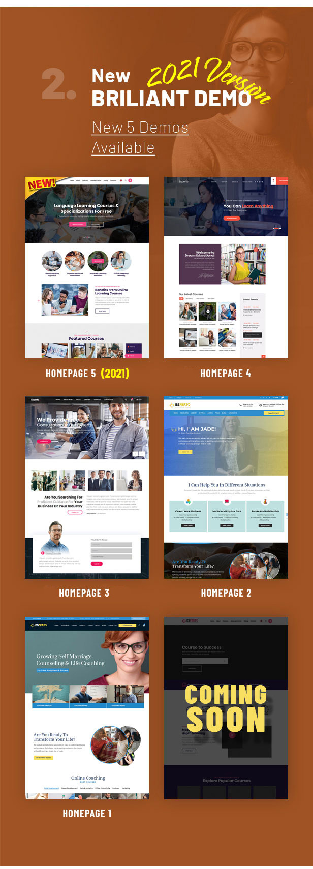 Esperto - A Consultancy and Coaching WordPress Theme - 2
