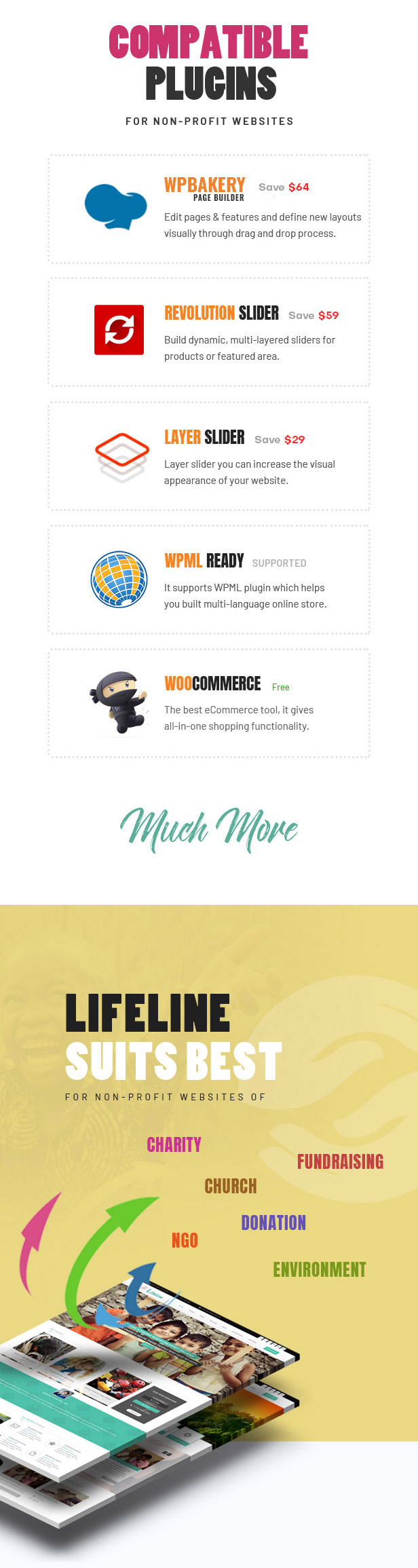 Lifeline - NGO, Fund Raising and Charity WordPress Theme - 3