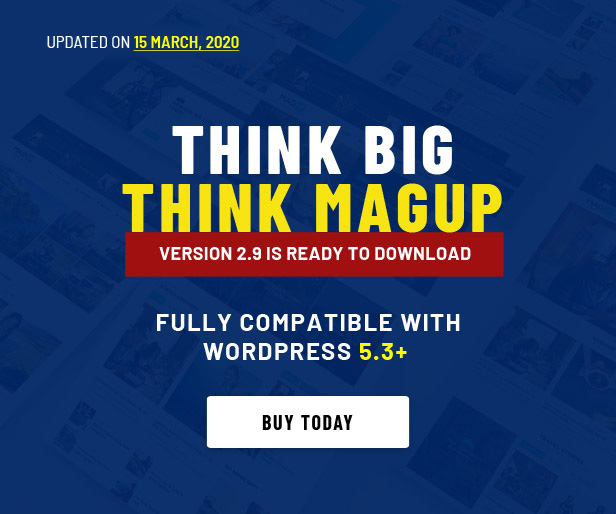 MagUp - Modern Styled Magazine WordPress Theme with Paid / Free Guest Blogging System - 1