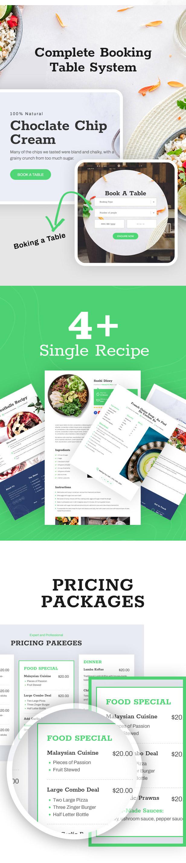 Mazaa - Responsive Restaurant or Eatery React Template - 5