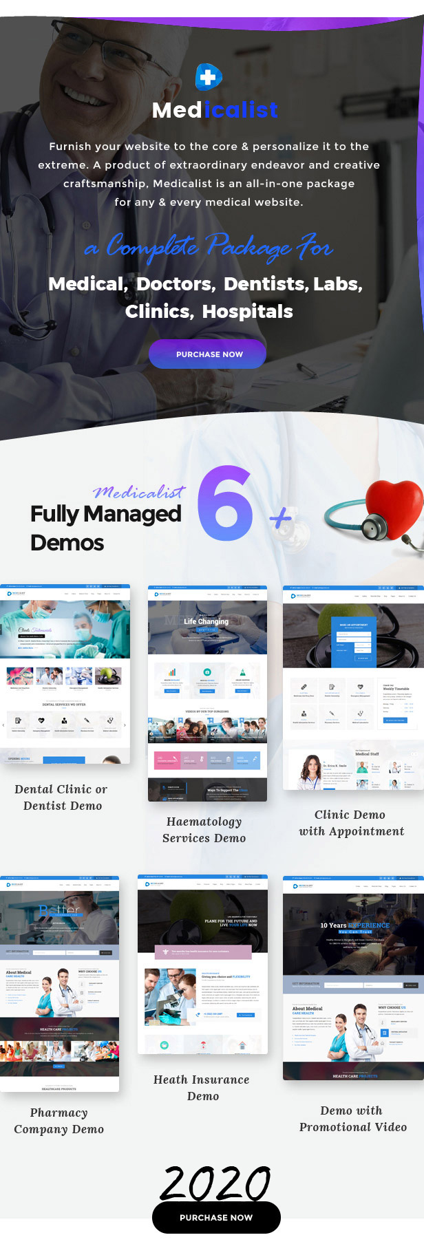 Medicalist - An All-in-One WP Medical Theme with Appointment and Blood Donation System - 2