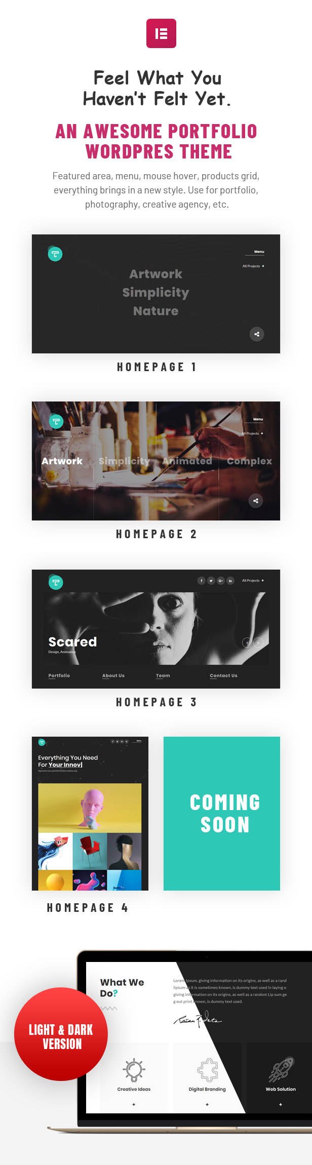 Tacon - A Showcase Portfolio WordPress Theme - 2