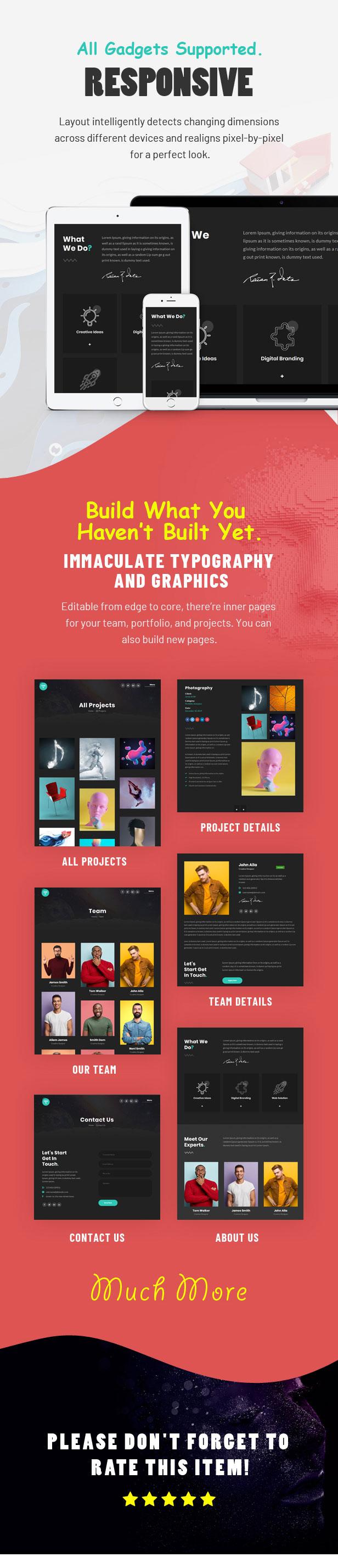 Tacon - A Showcase Portfolio WordPress Theme - 3