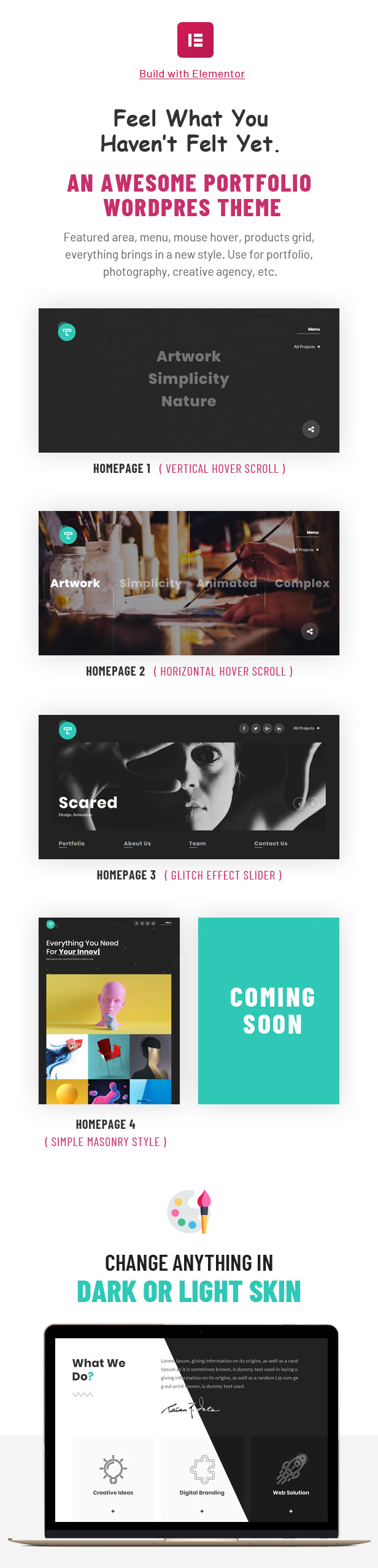 Tacon - A Showcase Portfolio WordPress Theme - 2