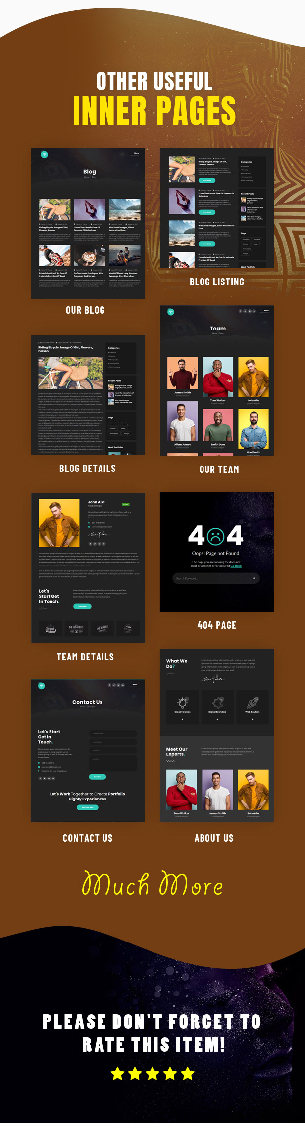 Tacon - A Showcase Portfolio WordPress Theme - 5
