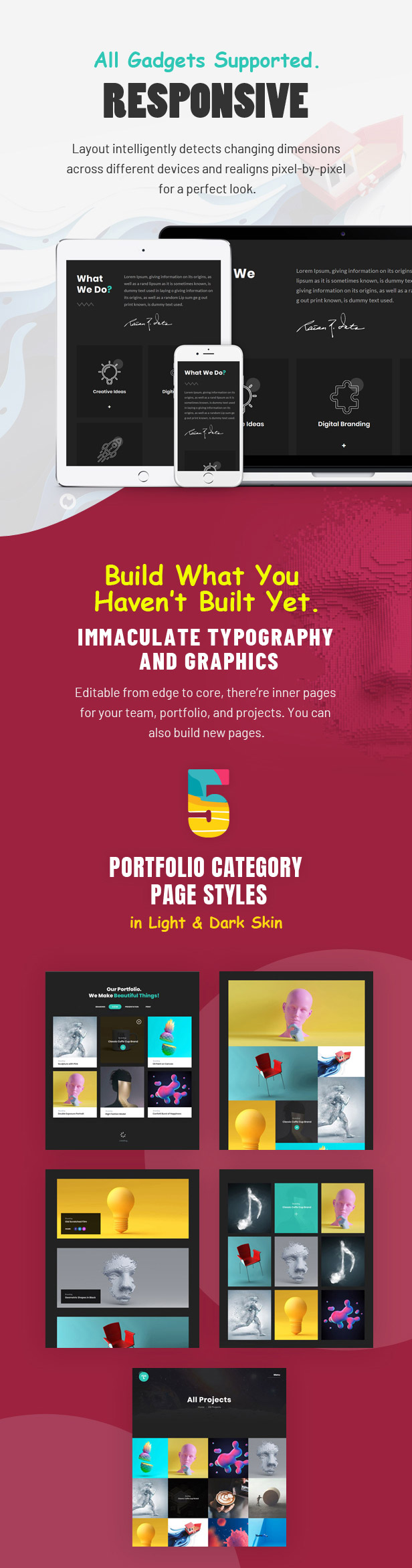 Tacon - A Showcase Portfolio WordPress Theme - 3