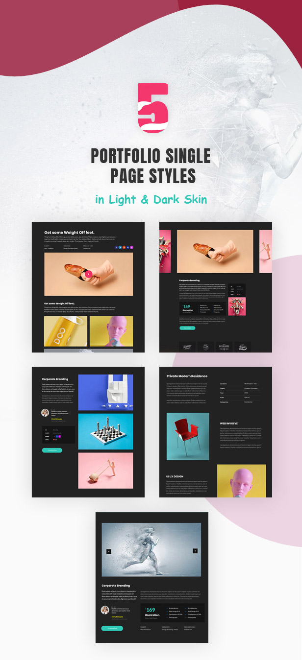 Tacon - A Showcase Portfolio WordPress Theme - 4